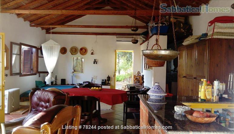 Peloponnese, cottage,  8' by foot from sandy beach, translucid water, panoramic view on see Home Rental in Lefktro, , Greece 5