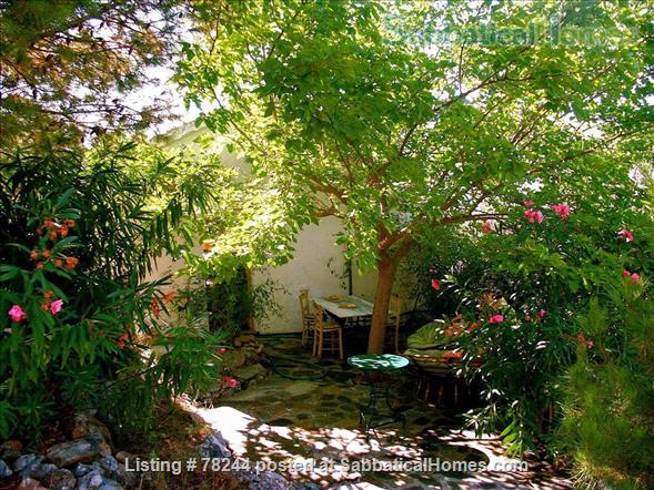 Peloponnese, cottage,  8' by foot from sandy beach, translucid water, panoramic view on see Home Rental in Lefktro, , Greece 8
