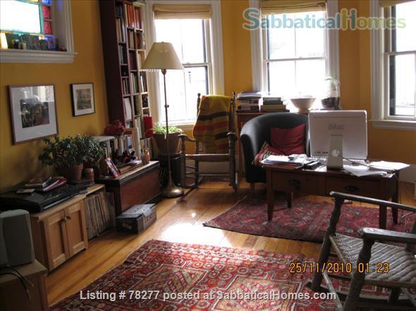 Lovely Somerville 4 BR Apartment near Harvard, Tufts, MIT Home Rental in Somerville, Massachusetts, United States 2