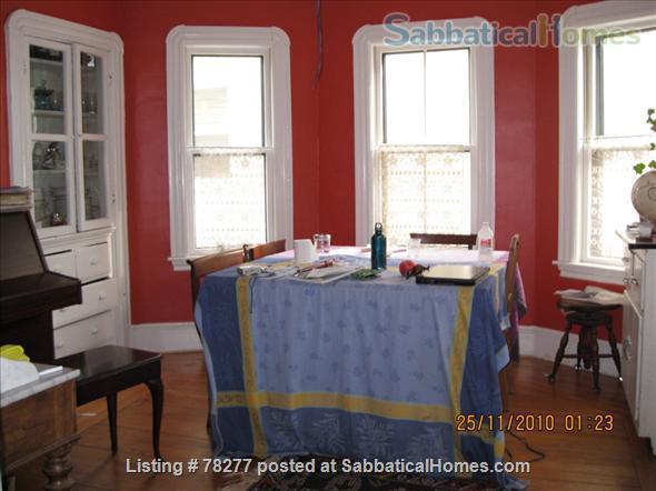 Lovely Somerville 4 BR Apartment near Harvard, Tufts, MIT Home Rental in Somerville, Massachusetts, United States 4