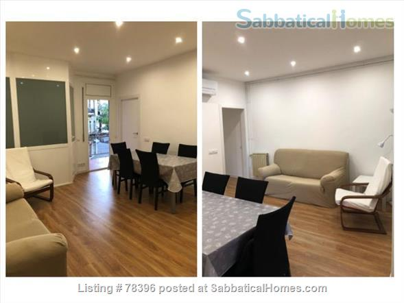 2 Bedroom Apart. Barcelona. 5 mins to UPF. Clean. Modern. Comfortable. Home Rental in Barcelona, Catalunya, Spain 1
