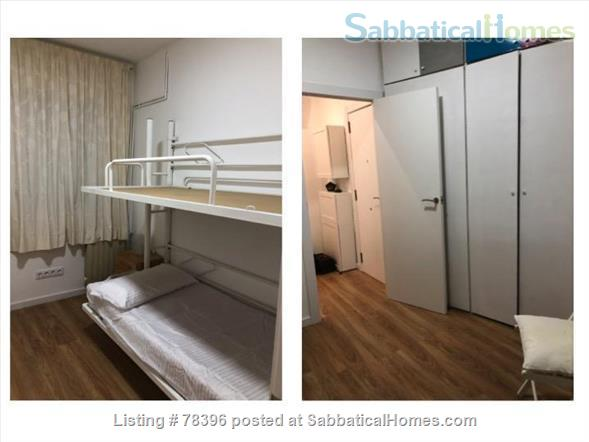 Furnished Apartment Barcelona. 5 mins walk to Pompeu Fabra University Home Rental in Barcelona, Catalunya, Spain 6