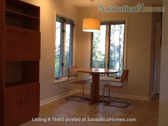 Private Turn-Key Apartment Very Close to UNC!  Renovated & Fully Furnished  on 1.3 Wooded Acres.  ALL UTILITIES INCLUDED! Home Rental in Chapel Hill, North Carolina, United States 7