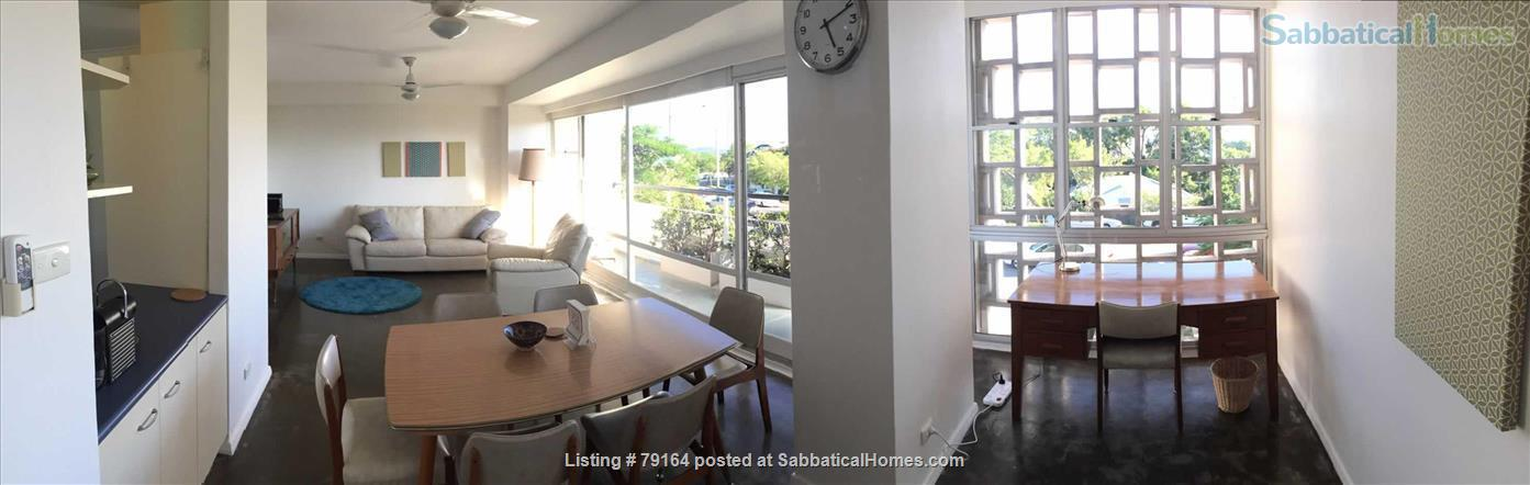 Brisbane apartment- Highgate Hill, Fully furnished 2Bed+study/3rd bedroom in Heritage listed Torbreck, Excellent access to UQ, QUT, Southbank and Hospitals Home Rental in Highgate Hill, QLD, Australia 2
