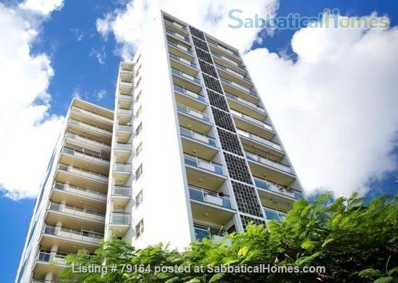 Brisbane apartment- Highgate Hill, Fully furnished 2Bed+study/3rd bedroom in Heritage listed Torbreck, Excellent access to UQ, QUT, Southbank and Hospitals Home Rental in Highgate Hill, QLD, Australia 7