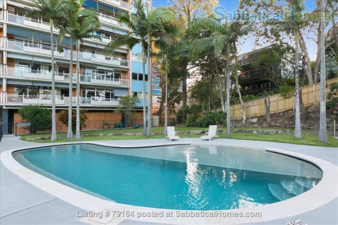 Brisbane apartment- Highgate Hill, Fully furnished 2Bed+study/3rd bedroom in Heritage listed Torbreck, Excellent access to UQ, QUT, Southbank and Hospitals Home Rental in Highgate Hill, QLD, Australia 8