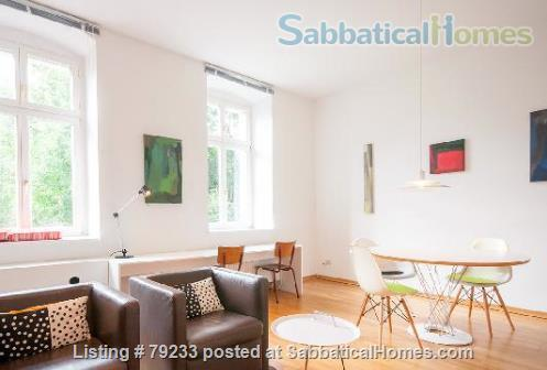Berlin-Mitte: 2 Room-Apartment = Bedroom, Living, 1 Eat-in Kitchen, Bath Home Rental in Berlin, Berlin, Germany 1
