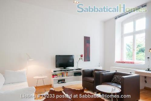 Berlin-Mitte: 2 Room-Apartment = Bedroom, Living, 1 Eat-in Kitchen, Bath Home Rental in Berlin, Berlin, Germany 0