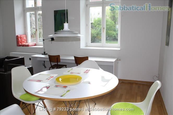 Berlin-Mitte: 2 Room-Apartment = Bedroom, Living, 1 Eat-in Kitchen, Bath Home Rental in Berlin, Berlin, Germany 3