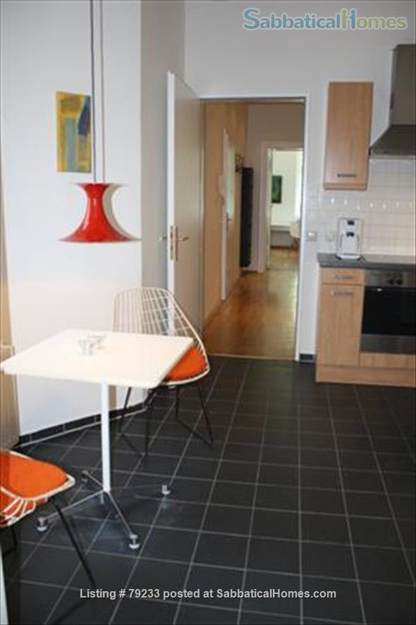 Berlin-Mitte: 2 Room-Apartment = Bedroom, Living, 1 Eat-in Kitchen, Bath Home Rental in Berlin, Berlin, Germany 6