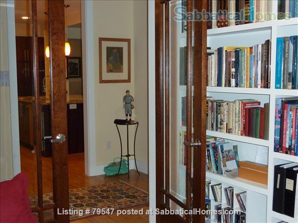 WALK TO BOSTON TRAINS! ART-FILLED CONTEMPORARY 2-BEDROOM LOFT-STYLE LUXURY CONDOMINIUM IN WESTERN BOSTON SUBURBS  Home Rental in Natick, Massachusetts, United States 3