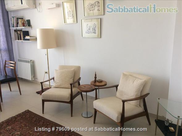 Bright, elegant Jerusalem apartment in ideal location Home Rental in Jerusalem, Jerusalem District, Israel 0