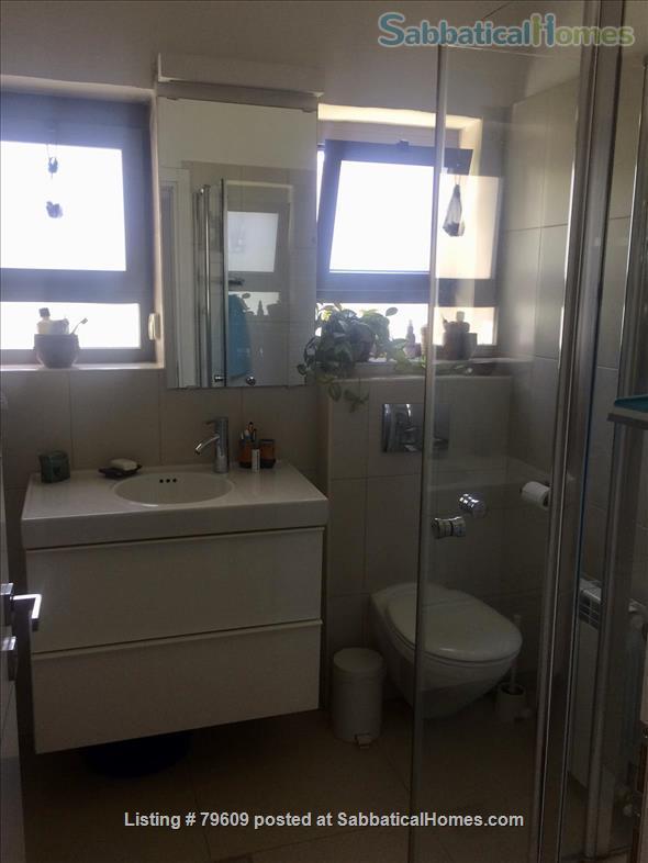 Bright, elegant Jerusalem apartment in ideal location Home Rental in Jerusalem, Jerusalem District, Israel 5