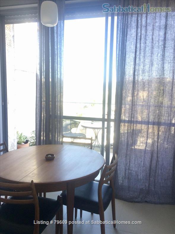 Bright, elegant Jerusalem apartment in ideal location Home Rental in Jerusalem, Jerusalem District, Israel 6