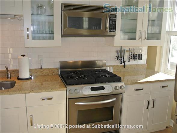 Sunny, furnished 1-bedroom penthouse apartment in Harvard Square with parking and roof deck Home Rental in Cambridge, Massachusetts, United States 1