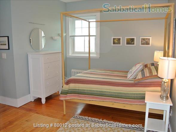 Sunny, furnished 1-bedroom penthouse apartment in Harvard Square with parking and roof deck Home Rental in Cambridge, Massachusetts, United States 5