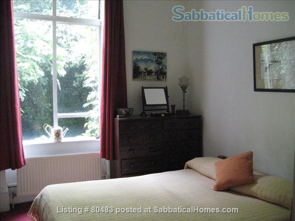 Furnished garden flat on quiet Georgian square in Central London Home Rental in London, England, United Kingdom 6