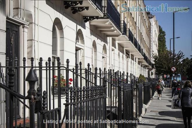 Sloane Square 1 bedroom flat + private garden, Central London. Utilities included. Very centrally located; quiet, secure, comfortable. Home Rental in London, England, United Kingdom 1