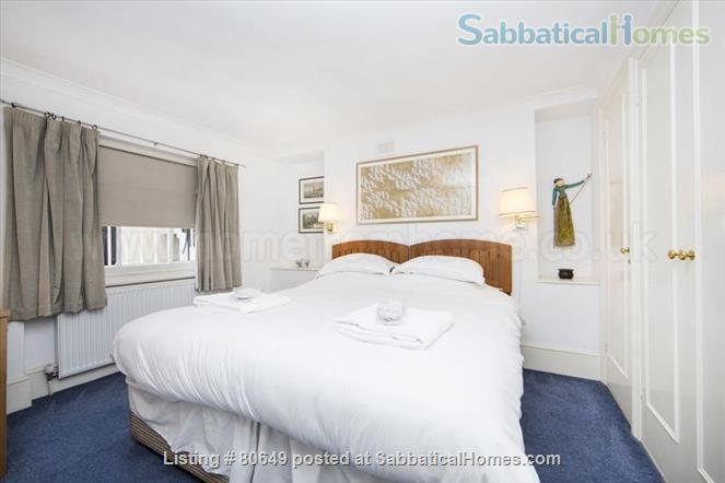 Sloane Square 1 bedroom flat + private garden, Central London. Utilities included. Very centrally located; quiet, secure, comfortable. Home Rental in London, England, United Kingdom 6