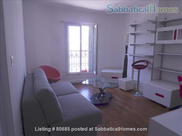 Bright, charming 2 room & fully funrnished Apt, near Montmartre Home Exchange in Paris, Île-de-France, France 1