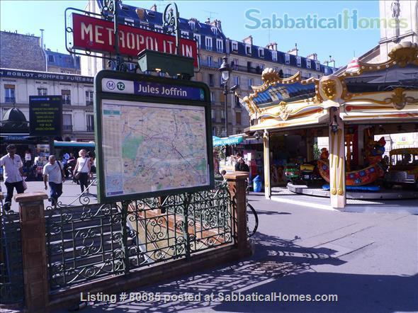Bright, charming 2 room & fully funrnished Apt, near Montmartre Home Exchange in Paris, Île-de-France, France 6