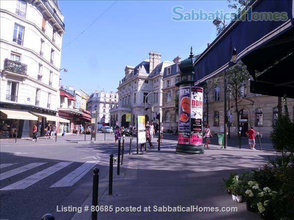 Bright, charming 2 room & fully funrnished Apt, near Montmartre Home Exchange in Paris, Île-de-France, France 7