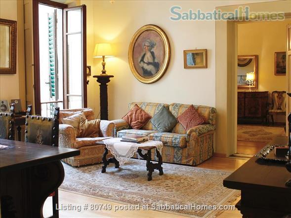 Spacious, elegant apartment in S.M. Novella Home Rental in Florence, Toscana, Italy 1