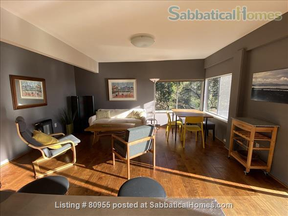 One + Bedroom Berkeley Hills Oasis with Amazing View Home Rental in Kensington, California, United States 2