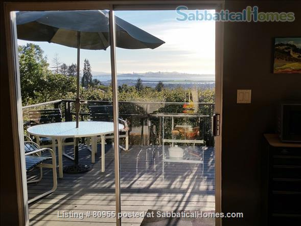 One + Bedroom Berkeley Hills Oasis with Amazing View Home Rental in Kensington, California, United States 7