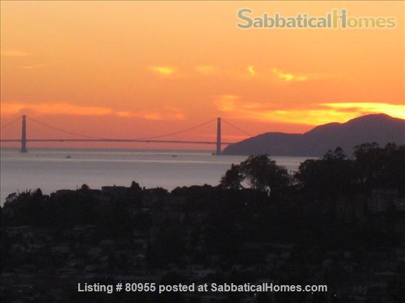 One + Bedroom Berkeley Hills Oasis with Amazing View Home Rental in Kensington, California, United States 8