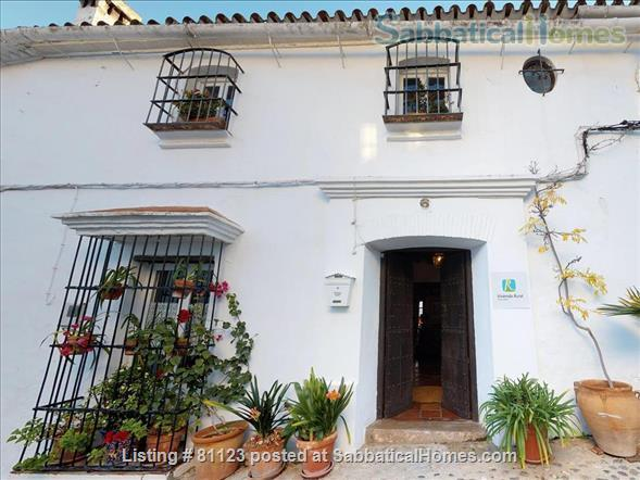 18th c. converted convent  in classic white  village-  Private  pool - AVAILABLE IN  November y December  Home Rental in Jimena de la Frontera, Andalucía, Spain 2