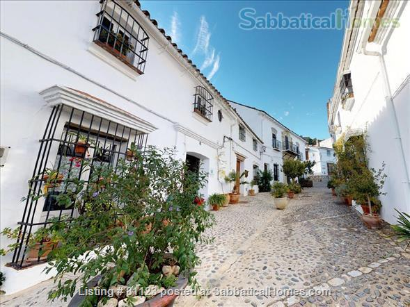 18th c. converted convent  in classic white  village-  Private  pool - AVAILABLE IN  November y December  Home Rental in Jimena de la Frontera, Andalucía, Spain 3