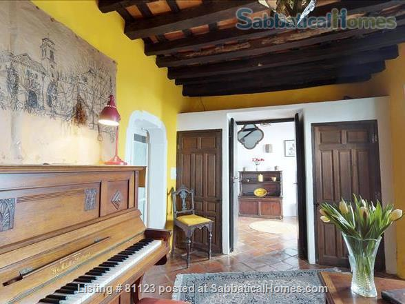 18th c. converted convent  in classic white  village-  Private  pool - AVAILABLE IN  November y December  Home Rental in Jimena de la Frontera, Andalucía, Spain 5