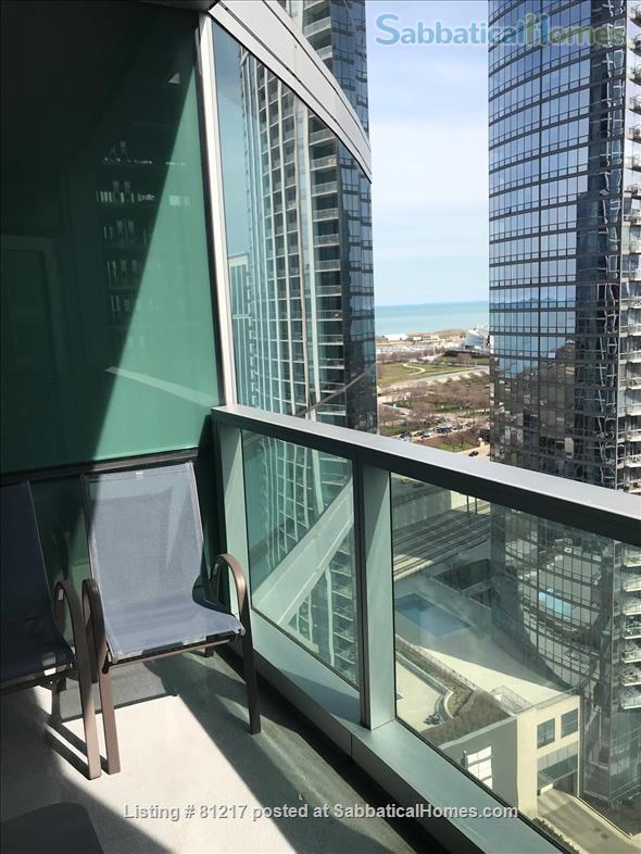 Fantastic Highrise, 20th floor, view of Lake Michigan and Grant Park Home Rental in Chicago, Illinois, United States 2