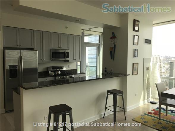 Fantastic Highrise, 20th floor, view of Lake Michigan and Grant Park Home Rental in Chicago, Illinois, United States 3