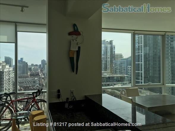 Fantastic Highrise, 20th floor, view of Lake Michigan and Grant Park Home Rental in Chicago, Illinois, United States 4