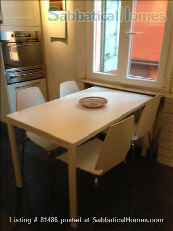 Spacious, quiet, fully furnished apartment for a family of 4, just steps away from the University, with many extras Home Rental in Bologna, Emilia-Romagna, Italy 5