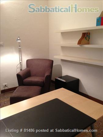 Spacious, quiet, fully furnished apartment for a family of 4, just steps away from the University, with many extras Home Rental in Bologna, Emilia-Romagna, Italy 7