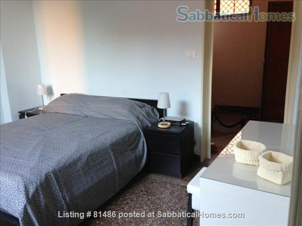 Spacious, quiet, fully furnished apartment for a family of 4, just steps away from the University, with many extras Home Rental in Bologna, Emilia-Romagna, Italy 8