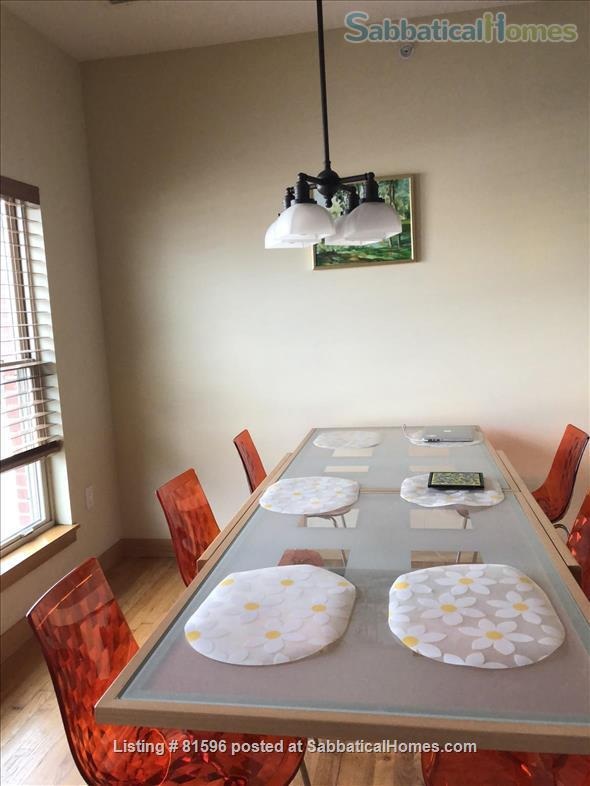 Furnished town-house condo in the vibrant near East side of Madison  Home Rental in Madison, Wisconsin, United States 0