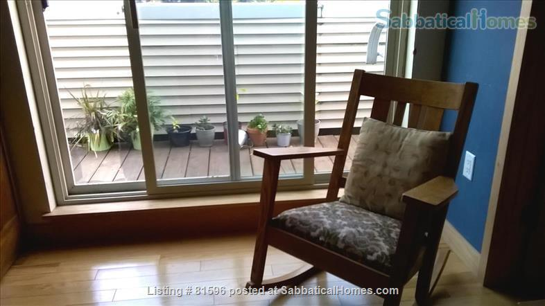 Furnished town-house condo in the vibrant near East side of Madison  Home Rental in Madison, Wisconsin, United States 4