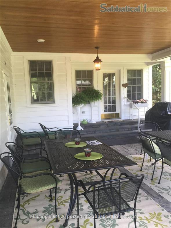 Private Iconic Historic Gem in the Village of Trumansburg on 6 acres Home Rental in Trumansburg, New York, United States 0