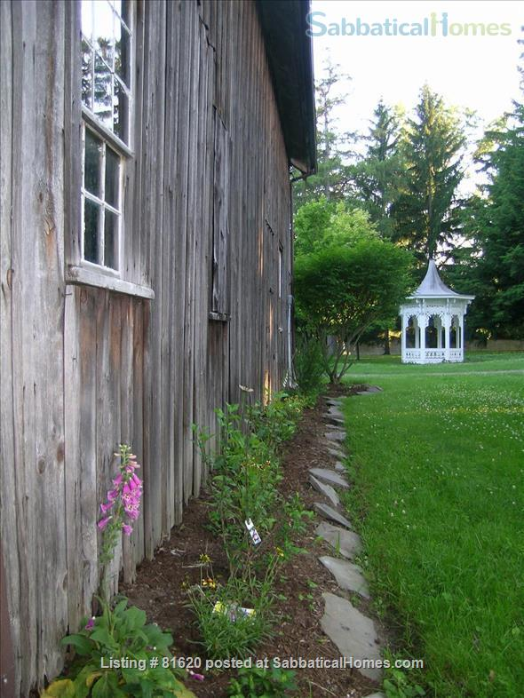 Private Iconic Historic Gem in the Village of Trumansburg on 6 acres Home Rental in Trumansburg, New York, United States 7