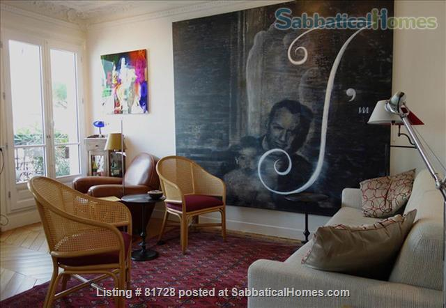 New York Artist's Home. Canal St Martin (10th) Home Rental in Paris, Île-de-France, France 1