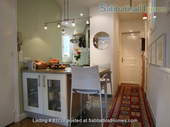 New York Artist's Home. Canal St Martin (10th) Home Rental in Paris, Île-de-France, France 4