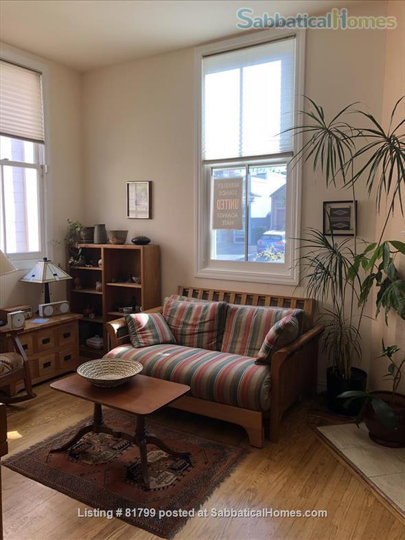 Victorian condo in quiet historic & conveniently located Berkeley neighborhood: $600/week (June 1, 2021-January 15, 2022) Home Rental in Berkeley, California, United States 4