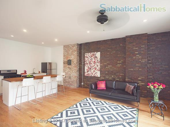 Artistic/Elegant/Spacious Luxury Loft w 2  bdrms. CLEAN, 1 min to subway Home Rental in Queens County, New York, United States 0
