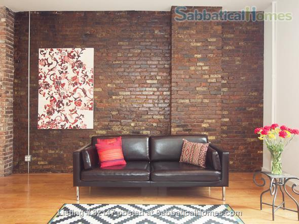Artistic/Elegant/Spacious Luxury Loft w 2  bdrms. CLEAN, 1 min to subway Home Rental in Queens County, New York, United States 1