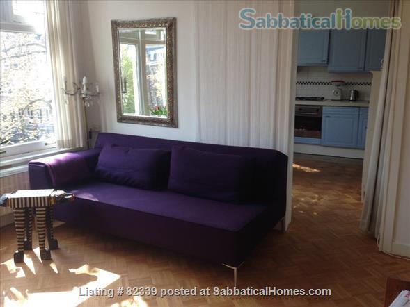 Lovely apartment in most charming part of AMSTERDAM Home Rental in Amsterdam, Noord-Holland, Netherlands 1