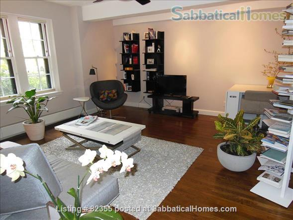 HARVARD  SQUARE 2br&2br (fully furnished&renovated) Home Rental in Cambridge, Massachusetts, United States 9
